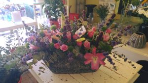 """סידור פרחים בראשל""""צ למשלוח"""