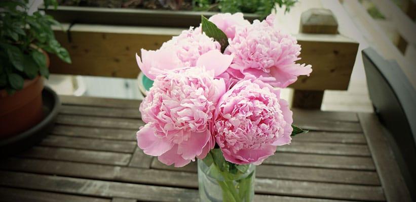 זר פרחים באגרטל