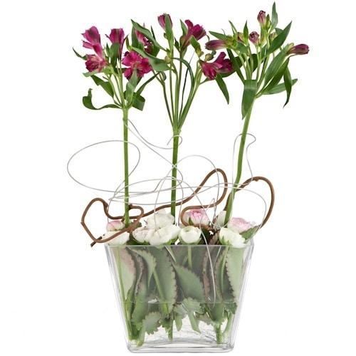 סידור פרחים אומנותי