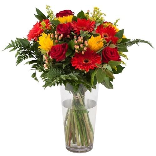 זר פרחים צבעוני - ליבלוב