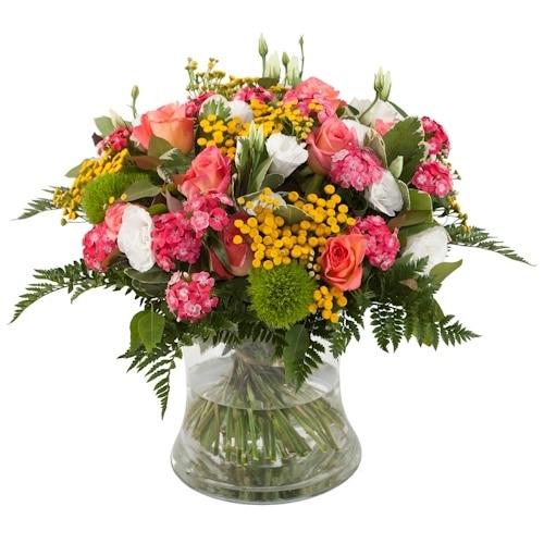 זר פרחים נשיקות