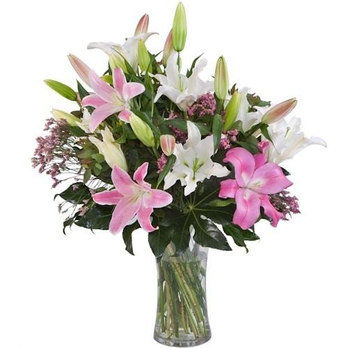 זר פרחים אוריינטל - חנות פרחים בראשון לציון