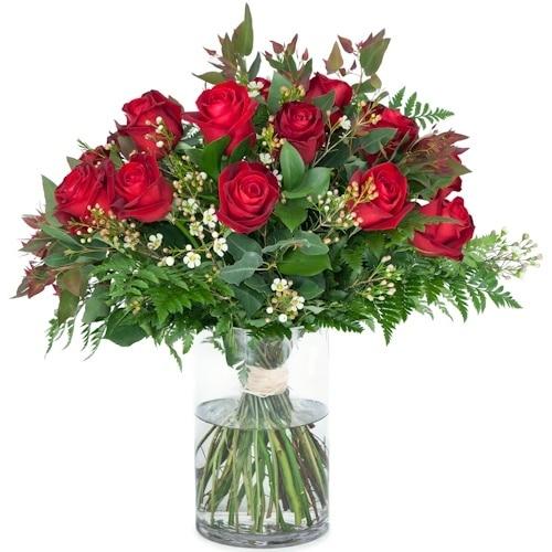 זר ורדים אדומים - משלוחי פרחים בראשן לציון