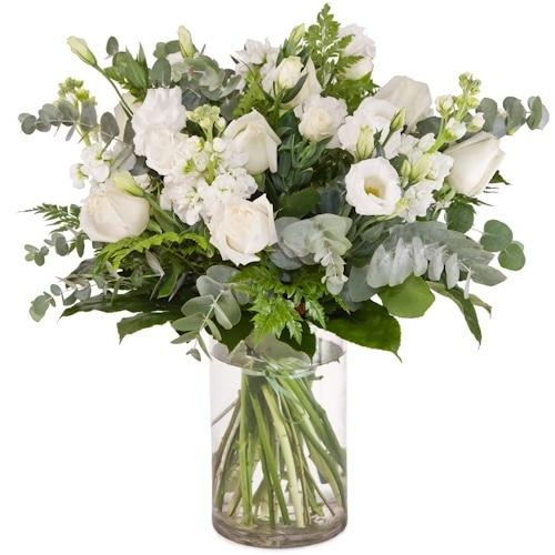 חגיגה בלבן - משלוחי פרחים בראשון לציון