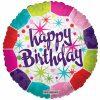 בלון יום הולדת צבעוני
