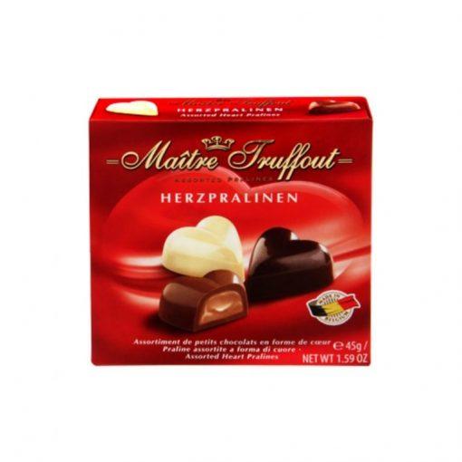 לבבות שוקולד בלגי – גונץ