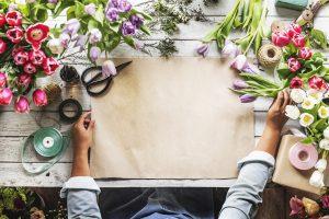 סידור פרחים לשבועות