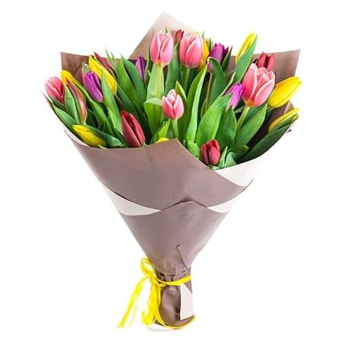 זר טוליפים - משלוחי פרחים בראשון לציון