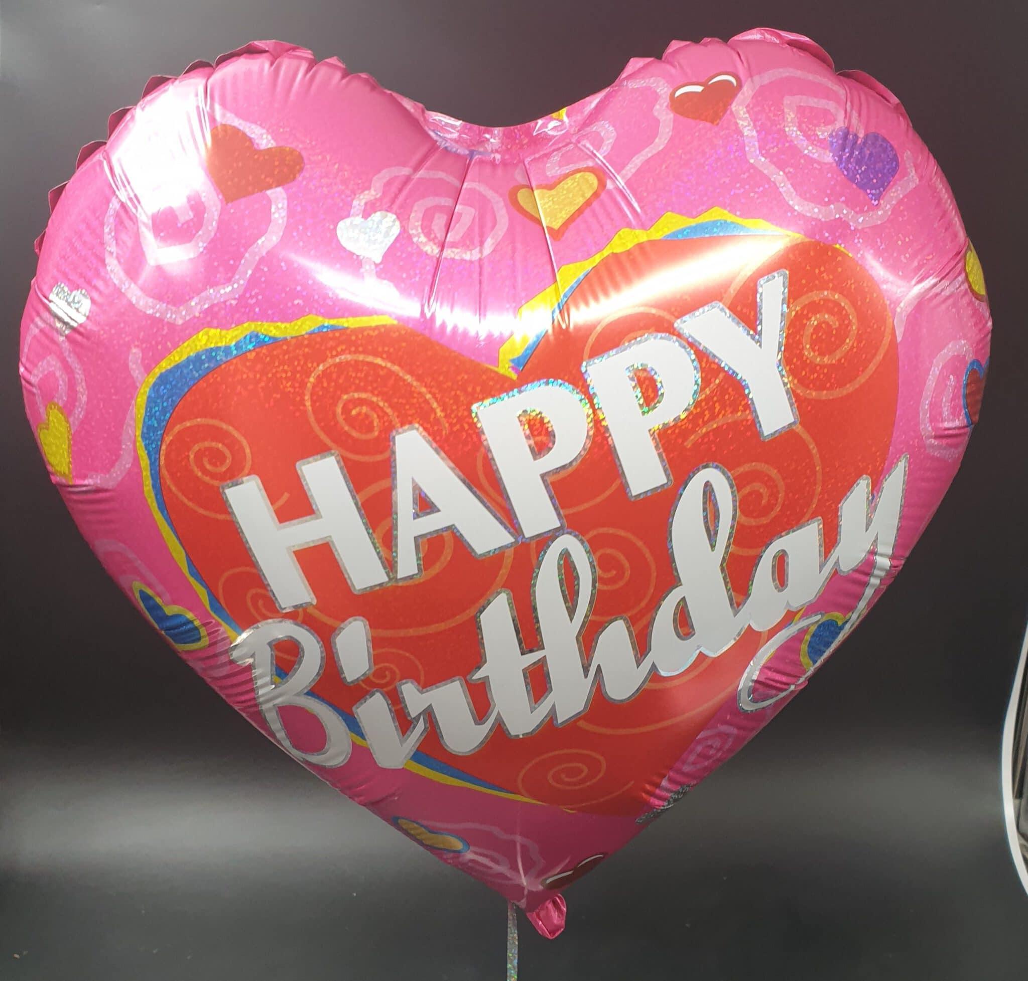 בלון יום הולדת לבבות